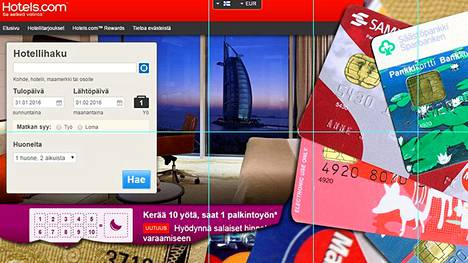 Poliisi on saanut tämän vuoden aikana jo yli 450 rikosilmoitusta luottokorttipetoksista, joissa on mainittu Hotels.com.
