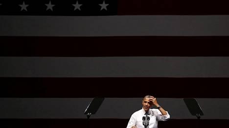 Obama kohtasi syksyllä 2017 runsaasti kritiikkiä, kun hän veloitti kolmesta, tunnin pituisesta puheesta yhteensä 1,2 miljoonaa dollaria.