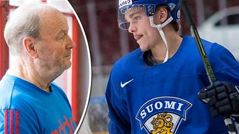 Hannu Rautala uskoo Mikko Rantaseen. Nuori kiekkoilija on fyysisesti äärimmäisen lahjakas.