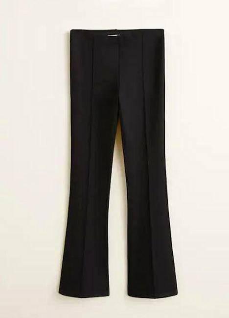 Näissä housuissa on kapeutta, joustoa ja leveää lahjetta, 25,99 €, Mango.