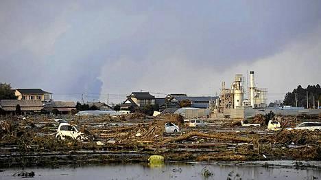 Tuhon jäljet Sendaissa, Japanissa ovat järkyttävät.