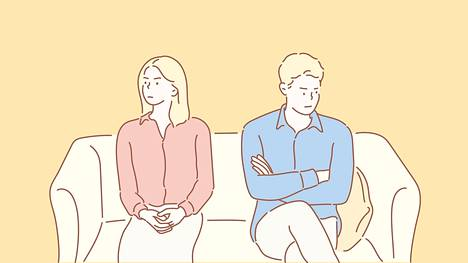 –Istuin sohvalla, katsoin miestäni ja mietin, että minulla ei ole mitään sanottavaa tuolle ihmiselle, kertoo yksi eronneista.