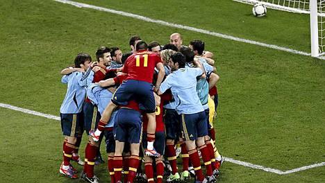 Espanja joukkue on kuin yksi perhe.