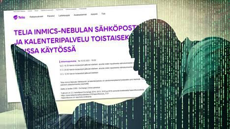 Telian palveluyhtiö Telian Inmics-Nebulan palveluita on nurin kolmatta päivää.