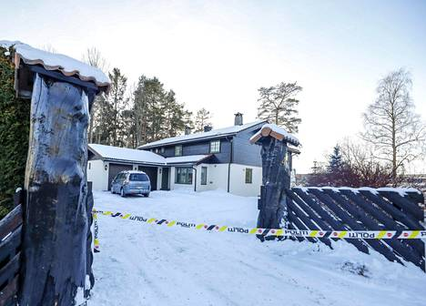Hagenin kotitalo kuvattuna vuonna 2011.