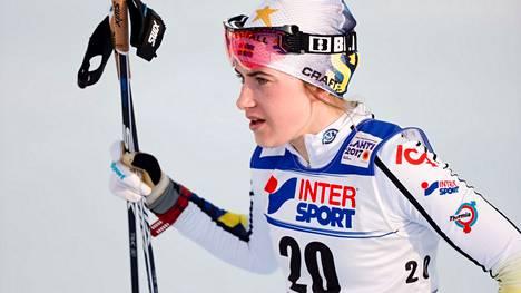 Ebba Andersson sai syyt niskoilleen Rukan kolarista.