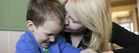 Ani Leikonniemi sai poikansa takaisin kotiin.