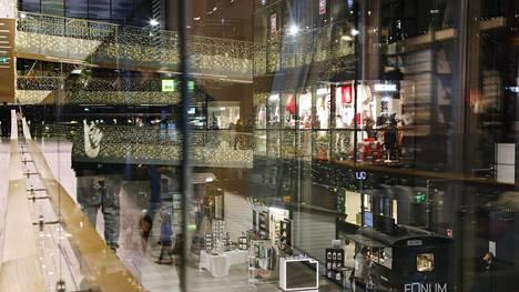 Kauppakeskus Valkea Oulun keskustassa 5. joulukuuta 2018.