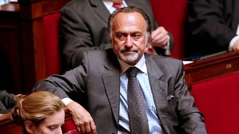 Kansanedustaja Olivier Dassault Ranskan kansalliskokouksessa syksyllä 2012 otetussa arkistokuvassa.