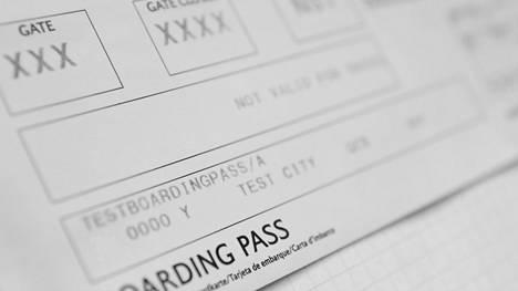Onko lentolipussasi salainen GTE-koodi? Matkasi voi vaikeutua huomattavalla tavalla
