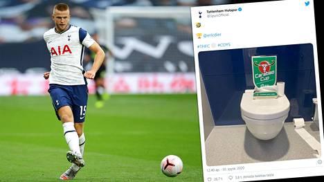 Tottenhamin Eric Dierille tuli luonnollinen hätä kesken ottelun.