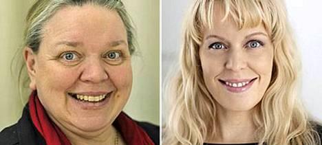 Kirsti ja Katri Manninen eivät vaivaannu seksikohtauksien kirjoittamisesta.