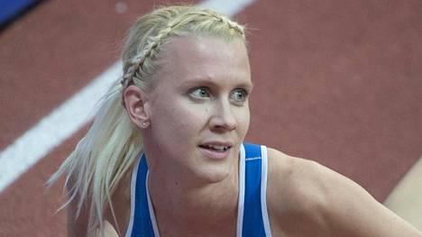 Sandra Eriksson on Suomen Rion-joukkueessa.