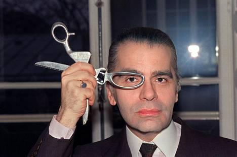 Lagerfeld vuonna 1987.