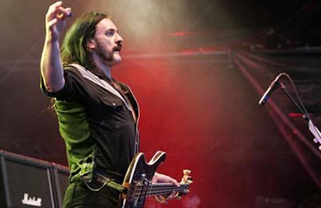 Lemmy Turun Ruisrockissa 2004.