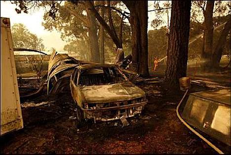 Palot ovat vaatineet pelkästään Gippslandin alueella 21 ihmisen hengen.