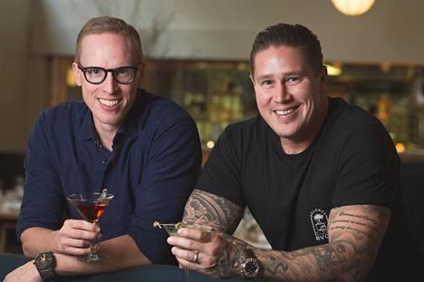Tomi Björck ja Matti Wikberg omistavat BW-Restaurantsin.