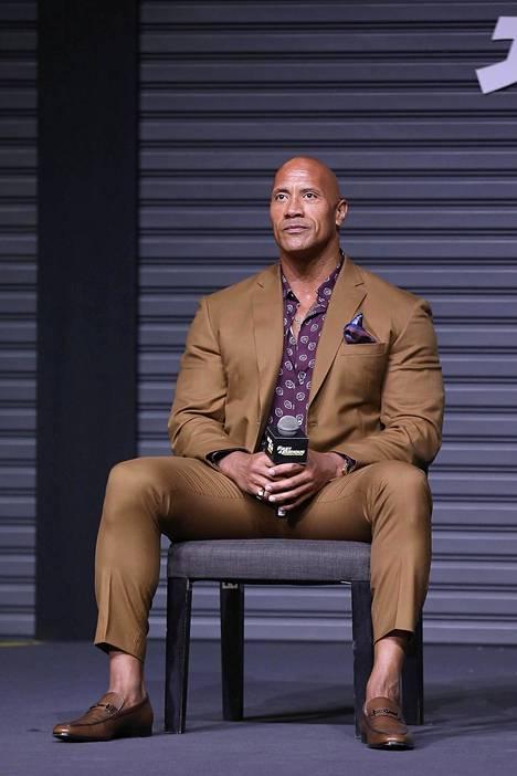 The Rock on valittu pari vuotta sitten maailman seksikkäimmäksi mieheksi.
