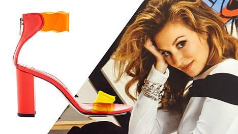 Yhdysvaltalainen muoti- ja kenkäsuunnittelija Nicole Brundage nimesi kenkämerkkinsä suomalaisen juoman mukaan.