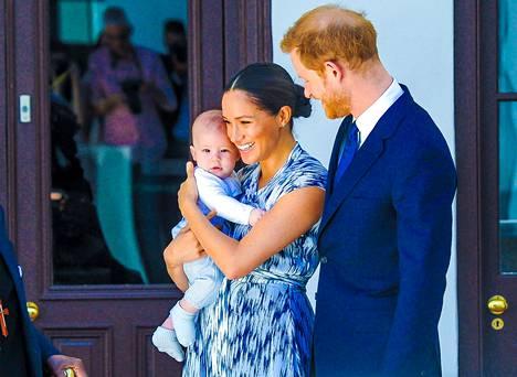 Harry ja Meghan asuvat nykyään Santa Barbarassa Archie-poikansa kanssa.