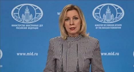 Venäjän ulkoministeriön Maria Zaharova on tunnettu kärkkäästä tavastaan vastata kritiikkiin.