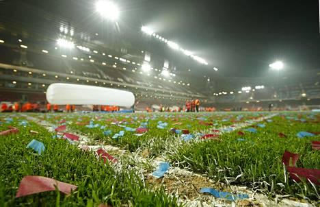 West Ham United jätti jäähyväiset Boleyn Groundille.