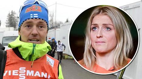 Sami Jauhojärvi kuuli Therese Johaugin saamasta rangaistuksesta Ilta-Sanomilta.