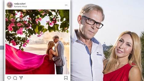 Toivo ja Nadja Sukari ovat olleet naimisissa kaksi vuotta.