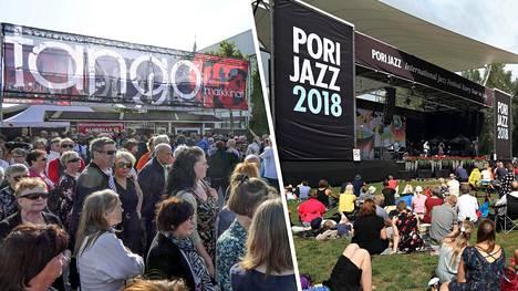 Tangomarkkinat ja Pori Jazz ilmoittivat festarikesän peruuntumisesta.