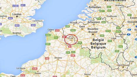 Traaginen löytö tehtiin Ranskan pohjoisosassa Lillen lähellä.