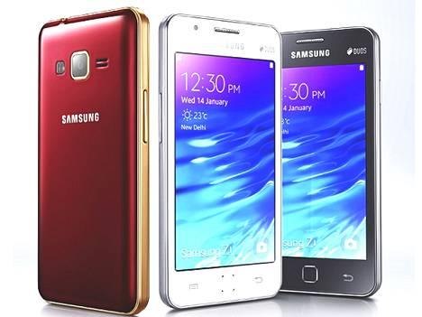 Samsungin Z1 maksaa Intiassa vajaat 80 euroa.