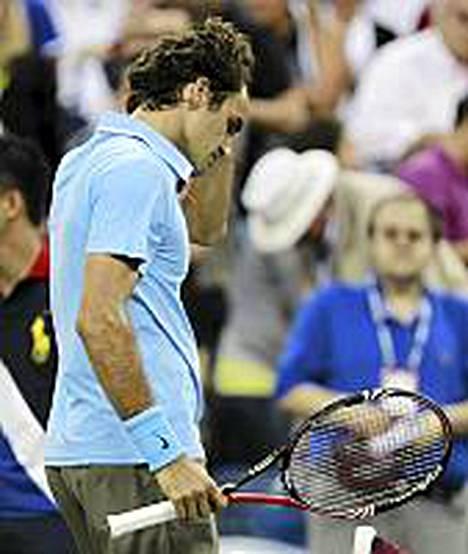 Roger Federer ei pelaa Sveitsin ryhmässä viikonloppuna.