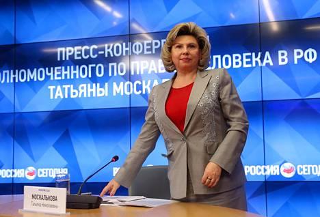 Tatjana Moskalkovan mukaan ihmisoikeudet ovatkin asia, jota muut maat yrittävät käyttää Venäjää vastaan.