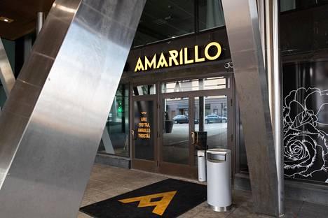 Ravintola Amarillo Kotkassa.