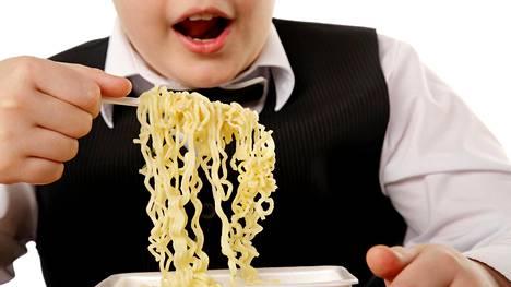 Lasten ylipaino yleistyy.
