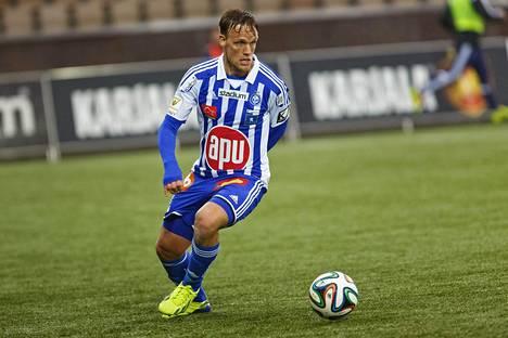 Mika Väyrynen siirtyi MLS-liigaan HJK:sta.