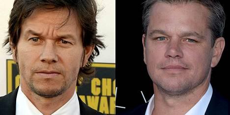 Mark Wahlberg ja Matt Damon.