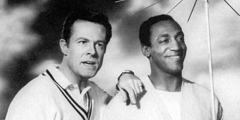 Robert Culp (vas.) ja Bill Cosby nousivat maailmanmaineeseen 1960-luvulla pyörineessä Minä vakooja -sarjassa.