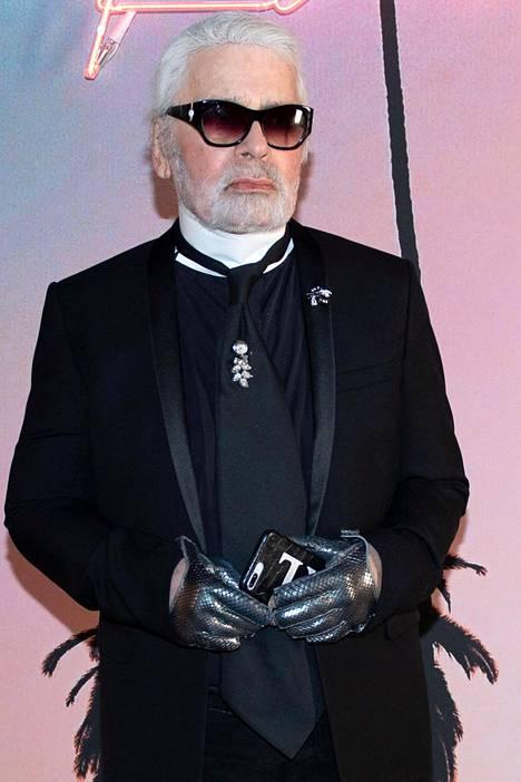 Karl Lagerfeld on kuollut. Hän oli 85-vuotiaana.