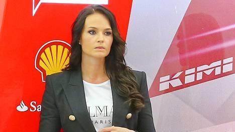 Minttu on totuttu näkemään F1-varikolla erittäin huoliteltuna.