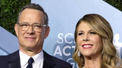 Tom Hanks ja Rita Wilson saivat Kreikan kansalaisuuden.