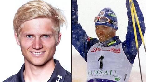 Mikat Vermeulen ja Myllylä. Vermeulen on syntynyt Itävallan Ramsaussa, jossa Mika Myllylä kahmi mitaleja hiihdon maailmanmestaruuskilpailussa vuonna 1999.