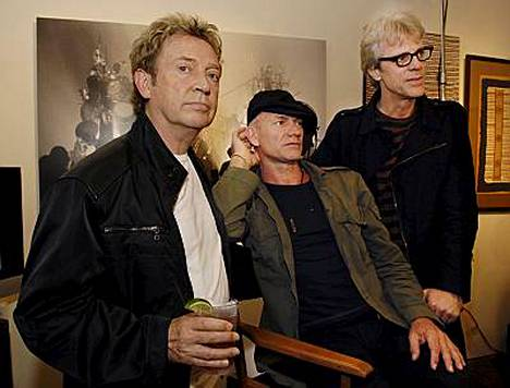 Andy Summersin, Stingin ja Stewart Copelandin yhteen paluu ei ole sujunut kitkatta.