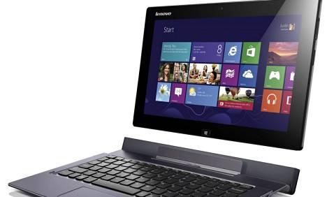 Levonon Ideapad Yoga on kosketusnäyttöinen Windows 8 -kannettava.