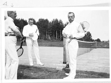 Tennis oli keisarin lempiharrastus.