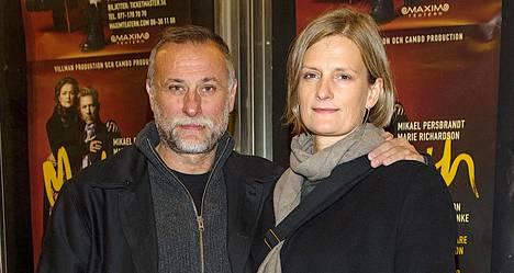 Michael Nyqvist oli naimissa Catharina Ehrnroothin kanssa.