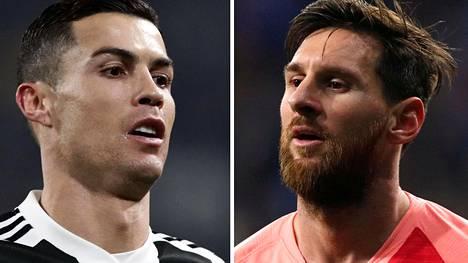 """Ronaldo patistaa Messiä vaihtamaan maisemaa: """"Toivon, että hän hyväksyy haasteen niin kuin minäkin tein"""""""