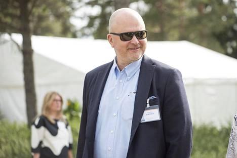 Jouko Jokinen Naantalin Kultaranta-keskusteluissa kesäkuussa 2018.