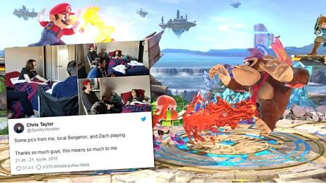 Super Smash Bros. Ultimate -kamppailupeli ilmestyy joulukuussa.