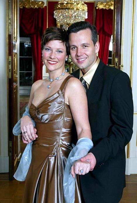Prinsessa Märtha Louise ja Ari Behn vuonna 2001.